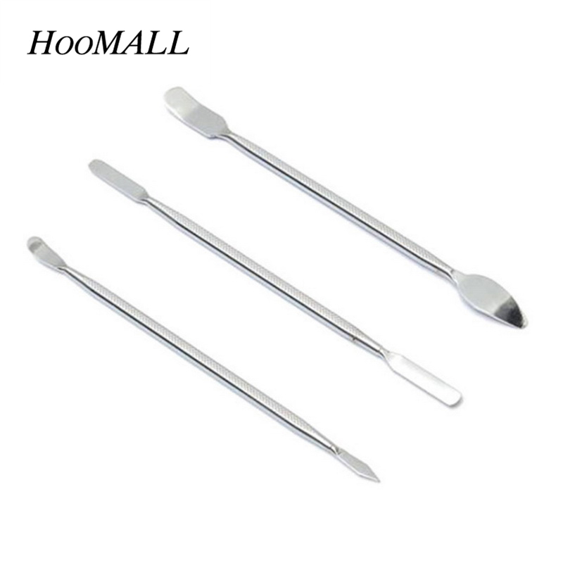 Hoomall 3pcs / Set Stainless Steel Metal Pry Bar Boot Bar Mobile Phone Disassemble Stick Open Shell Tool Kit Hand Tool Sets New