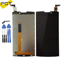 Black Spare Parts For Highscreen Boost 2 se boost II se 9169 LCD Display + Touch Screen digitizer Assembly+ Tool Kits