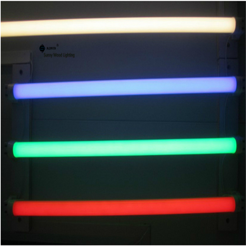 Free shipping 10pcs/carton 2835 T8 led color  tube ,0.6m ,0.9m,1.2m led Red ,Green ,Blue,purple tube for fresh food free shipping 10pcs carton 1 2m 18w 36w led t5 single tube double tube light with shiled to replace 28w 36w traditional light