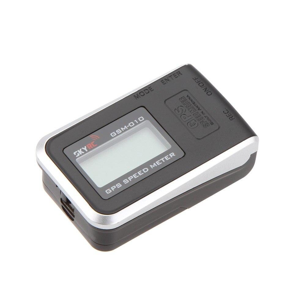 SkyRC Haute Précision GPS Compteur de Vitesse avec LiPo Batterie pour Télécommande Loisirs Hélicoptère FPV Quadcopter SKYRC vitesse-mètres
