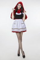 Hot Sexy Dres Plus Size S M L XL XXL Costume Adult Little Red Riding Hood