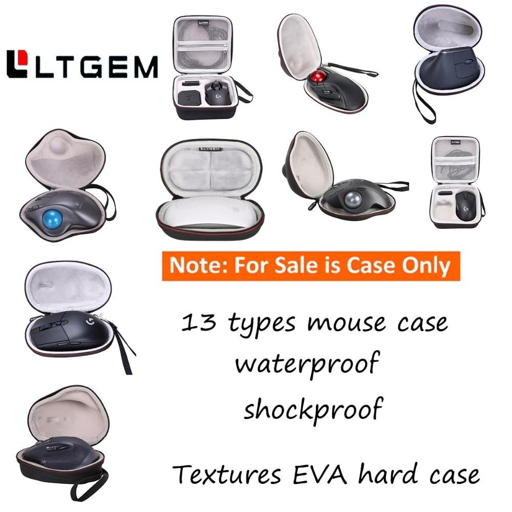 LTGEM Hard EVA Protective Case Carrying Cover Bag For Apple Magic Mouse For Logitech MX Vertical G602 M720 G305 G903 G900 Mouse