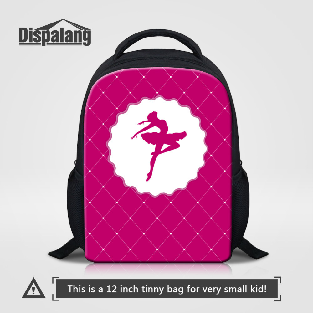 03d2267f02d2 Dispalang Cute Ballet Girls Small Backpacks for Kindergarten School Bags 12  Inch Child Travel Shoulder Bags Mochilas Rucksack