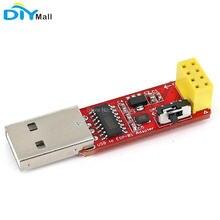 USB ke ESP8266 ESP-01 Modul Penyesuai Wifi Tanpa Wayar USB ke Serial TTL CH340G IC Pemandu untuk Automasi Utama
