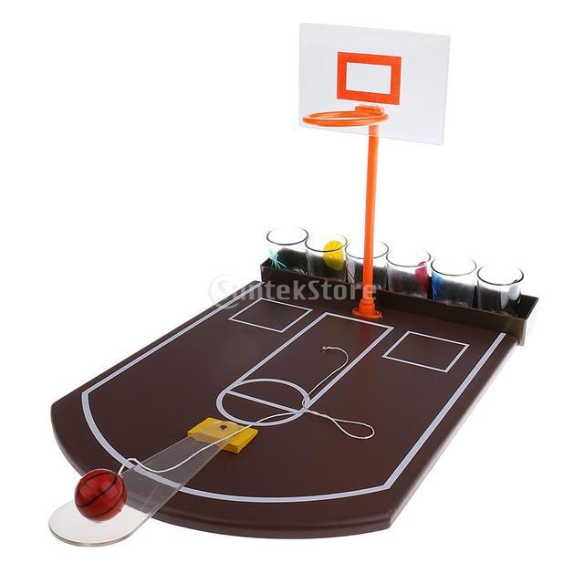 Etonnant Mini Tabletop Basketball Shot Glass Drinking Game For Adult Home Family Pub  Bar Board Game Christmas