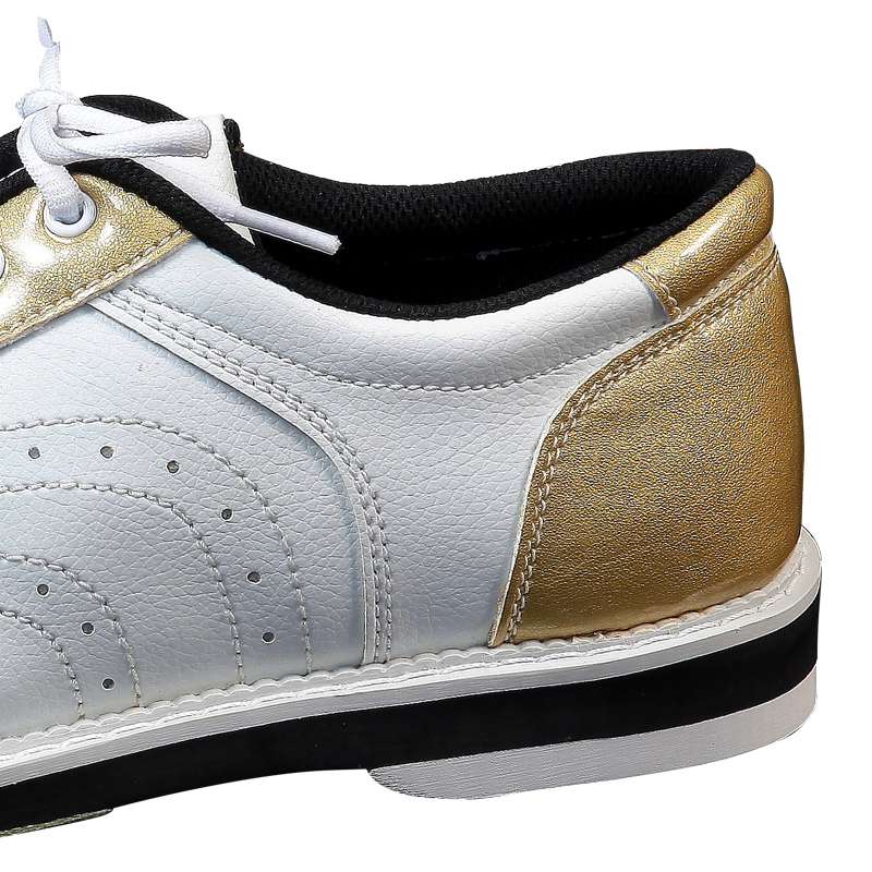 Closeout Deals‹Bowling Shoes PU Men Professional Sneakers Skidproof-Sole Anti-Slip Training D0762 Sportsφ