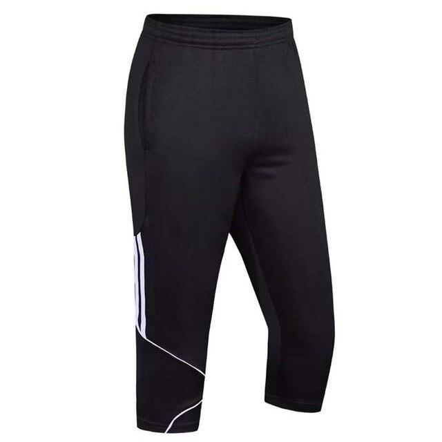 Pantalones deportivos hombres 3 4 pantalones de entrenamiento de fútbol  tracksuits Survetement fútbol 2018 kits a4cc8fbdfc27c