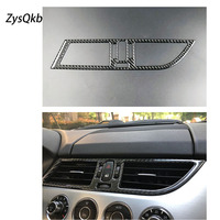 Carbon Fiber Car Interior Air Conditioner Outlet Decorative Frame Cover Trim Car Styling 2009 2015LHD Accessories For bmw z4 e89