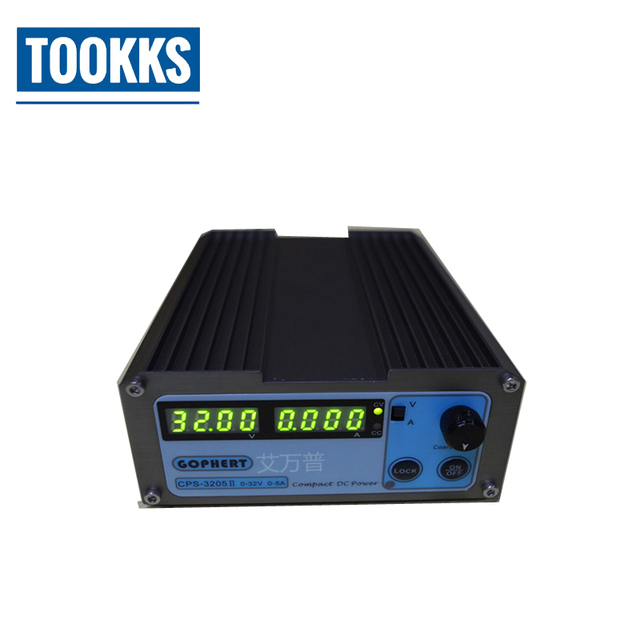 Mini CPS-3205II 160W DC Power Supply  Digital Adjustable EU UK US adapter OVP/OCP/OTP low power DC adapter CPS3205  0-32V 0-5A