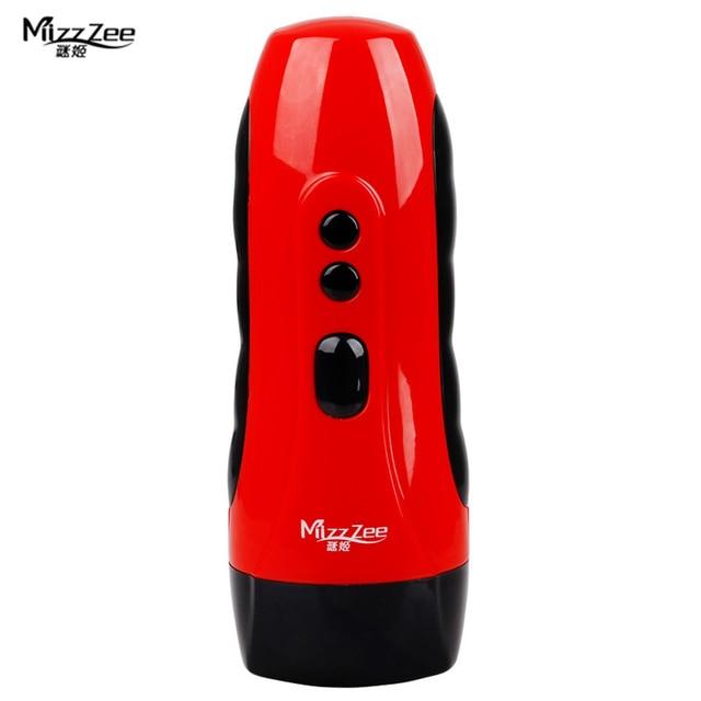 MizzZee Electric Male Masturbators USB Rechargeable Artificial ...