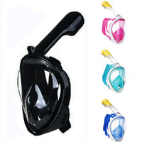 Full Face Snorkeling Diving Mask Set Underwater Swimming Training Scuba Swimming Equipment Snorkeling Mask For Kid