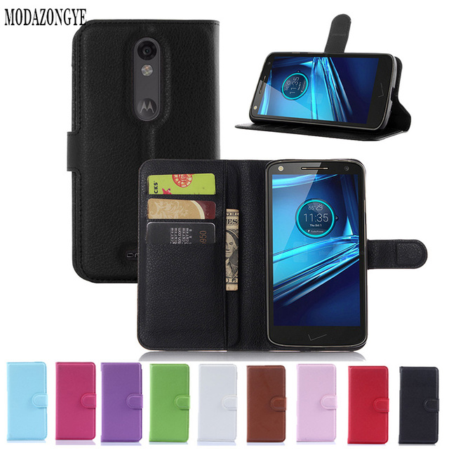 info for 3aec1 4822a US $3.36 20% OFF|Luxury Wallet PU Leather Cell Phone Case Cover For  Motorola Droid Turbo 2 Case Cover Flip Back Cover For Motorola Moto X  Force-in ...
