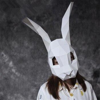 Маска ручной работы Кролик