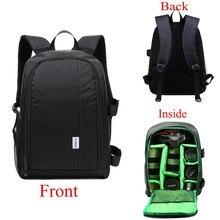 Waterproof Camera Bag Case Multi-functional Soft Digital DSLR Camera Backpack for Canon Nikon Sony Panasonic Fujifilm Leica