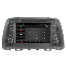 For capacitive touch screen Quad core Mazda 6 2013-2015 car dvd player GPS with WiFI+FM/AM Radio+Bluetooth+Multimedia+USB/SD+3G