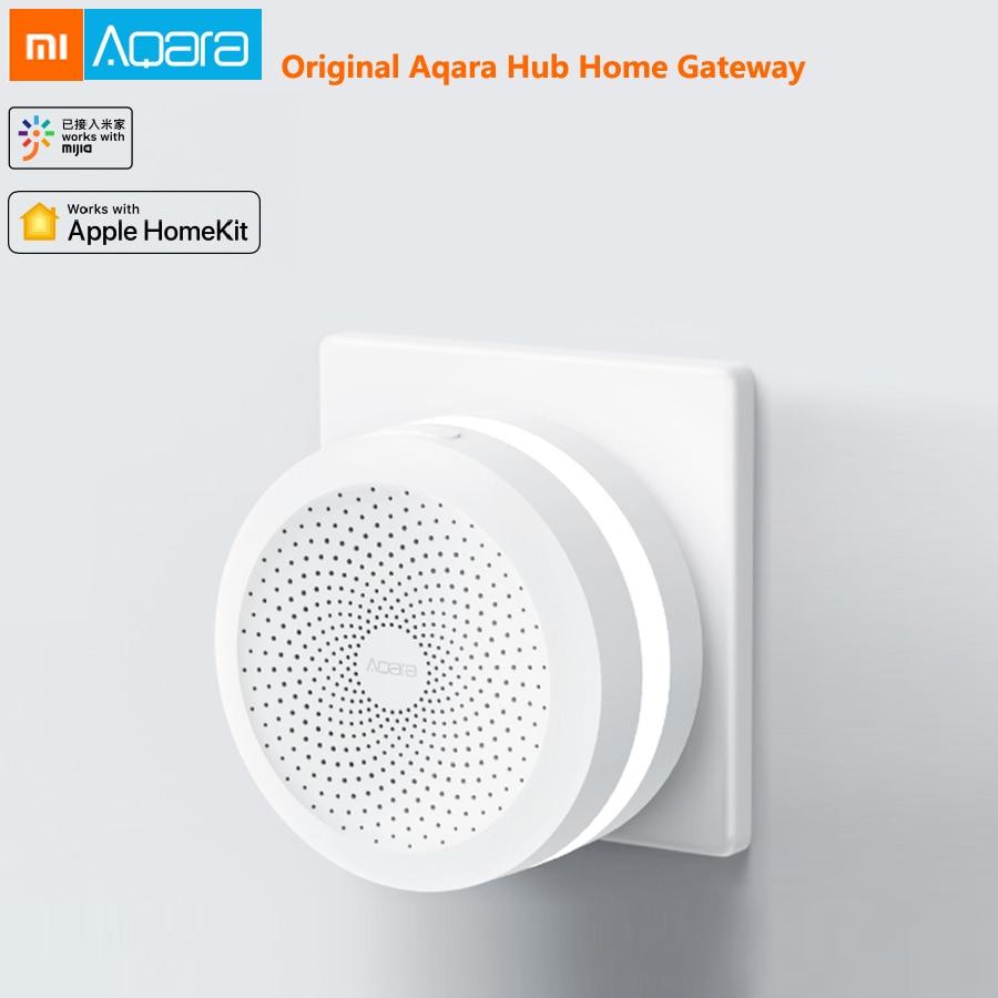 Xiao mi mi jia Aqara Hub mi passerelle avec lumière de nuit RGB Led dispositif intelligent Centre travailler avec Apple Homekit mi accueil Aqara App contrôle