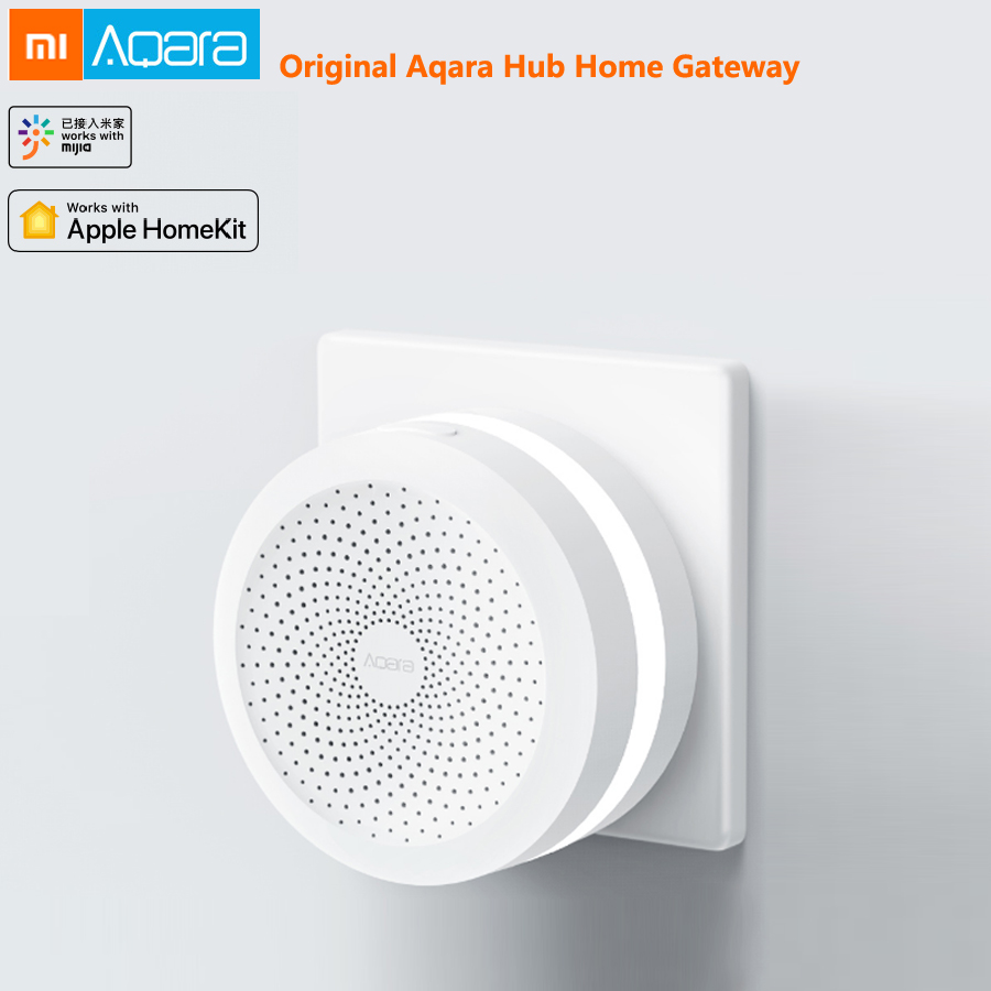 Xiaomi Mijia Aqara Hub Mi Gateway with RGB Led Night light Smart Device Centre Work With Apple Homekit Mi Home Aqara App ControlXiaomi Mijia Aqara Hub Mi Gateway with RGB Led Night light Smart Device Centre Work With Apple Homekit Mi Home Aqara App Control