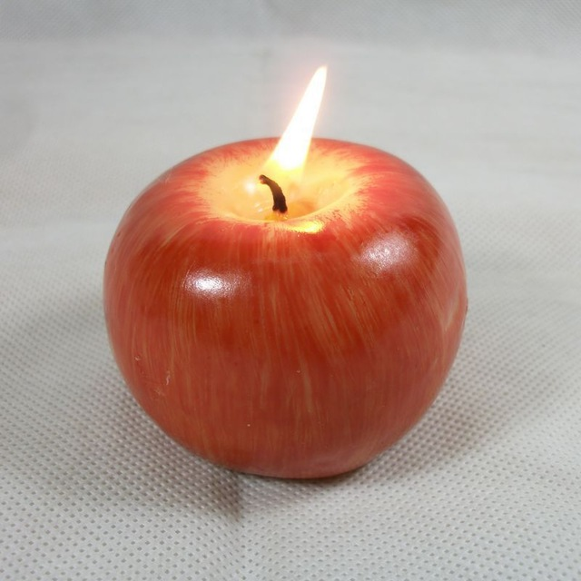 romantic decor home office. romantic apple shape candle holiday prop christmas party wedding decor candlelight dinner supplies home office decoration