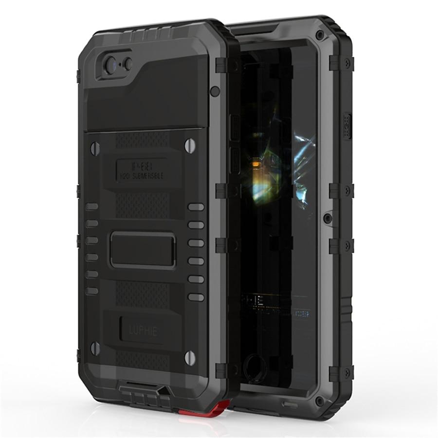 Luphie Warwolf IP68 Case for iphone 8 8plus Անջրանցիկ - Բջջային հեռախոսի պարագաներ և պահեստամասեր - Լուսանկար 1