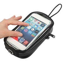 Universal Black Motorcycle Bags Magnetic Gas Tank Clear For Cell Phone Case for motorcycle Holder Mount