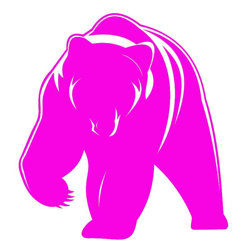 Милый медведь гризли винил JDM наклейка животное наклейка подходит для автомобиля окно грузовик бампер заднее лобовое стекло ноутбук каяк Декор Авто стиль