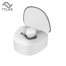 TTLIFE Q7 Mini Wireless Bluetooth earphone headphones V4.1 CVC6.0 Noise Cancelling With Mic 430mAh charge box for xiaomi iPhone