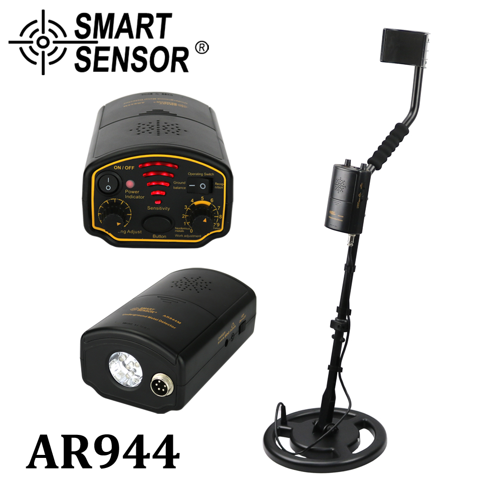 Detector de metais Subterrâneo depth1.5m/3 m AR944M Scanner ferramenta Finder 1200mA li-Bateria para Gold Digger Treasure Buscando caçador