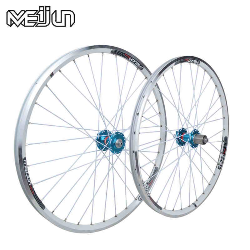 26 ''inch 32 Holes MTB Mountainbikes Road Fietsen V Remschijf Dual purpose Wiel Hubs Velg mes cirkel Wielset Onderdelen