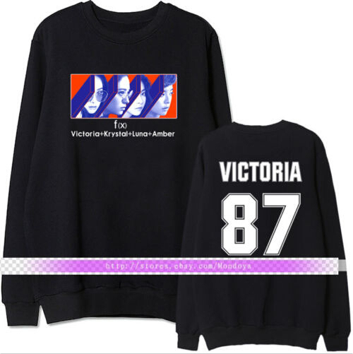 Sweater FX 4Walls Amber Krystal Hoodie Sweatershirt Pullover Luna Kpop F X