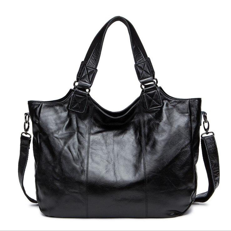 Flug katze Women Genuine font b leather b font font b handbag b font fashion crossbody