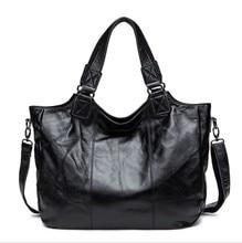 Flug katze Women Genuine leather handbag fashion crossbody bags for women tote solid color female simple