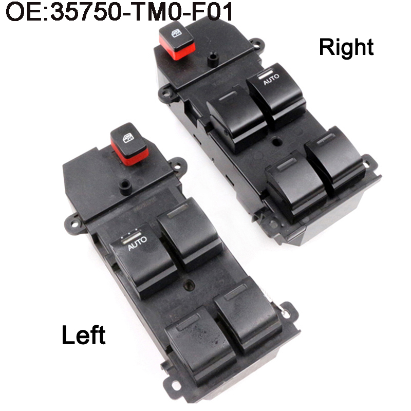 1pcs new electric master power window switch for honda fit. Black Bedroom Furniture Sets. Home Design Ideas