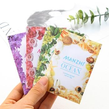 Paquete de 3 bolsitas de papel desodorizante para armario, bolsa de aromaterapia, bolsa de especias para colgar fragancias naturales, ambientadores para armario