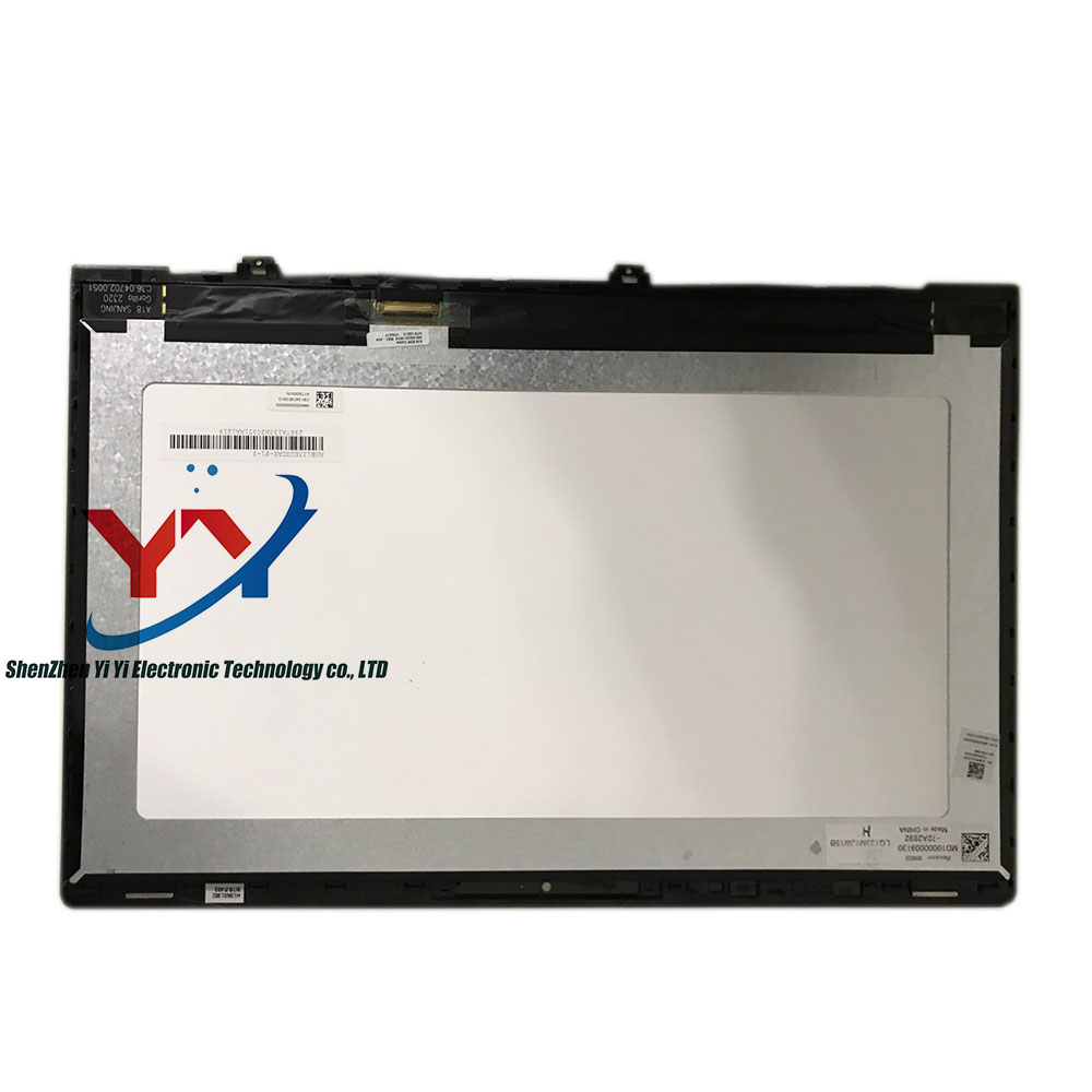 13.3 LCD LED Screen Display Matrix Glass Assembly with frame bezel N133HCE-GP1 LTN133HL09 LQ133M1JW15 For Xiaomi Mi Notebook Air