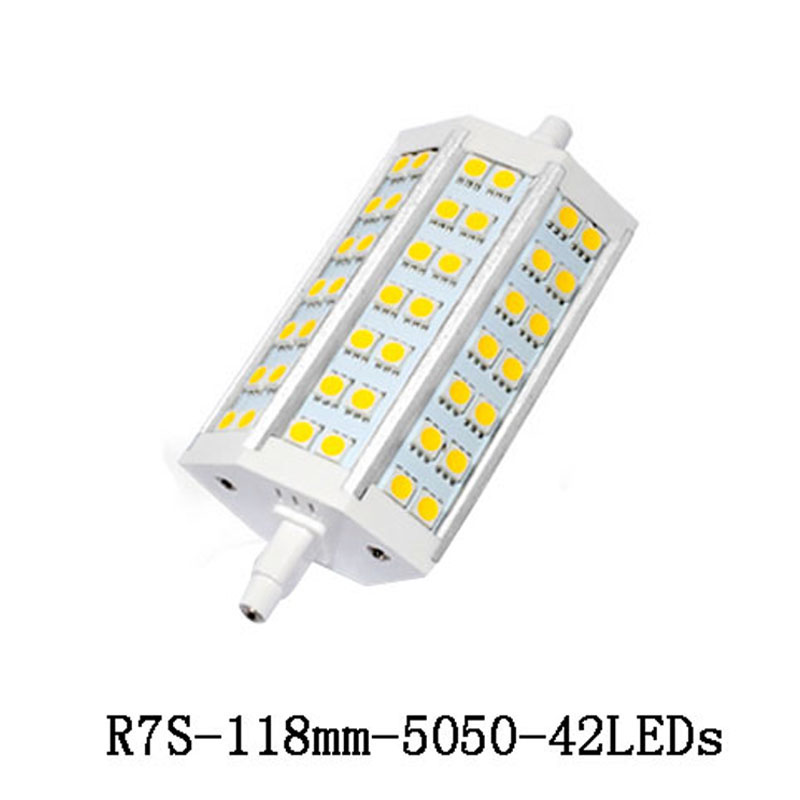 1x r7s led lamp 5050 smd 78mm 118mm 10w 20w corn bulb spotlight replace halogen floodlight led for R7s led 118mm 20w