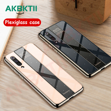 AKBKTII Case For Xiaomi mi 9 8 SE Lite Explorer Plexiglass Mirror Full Protection TPU Soft Back Play