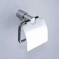 Chrome Solid brass copper bathroom toilet paper holder Hardware accessories
