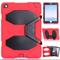 Rugged Hybrid Heavy Duty Cover Case For iPad Mini 1/2/3 Retina Shockproof Case with Kickstand