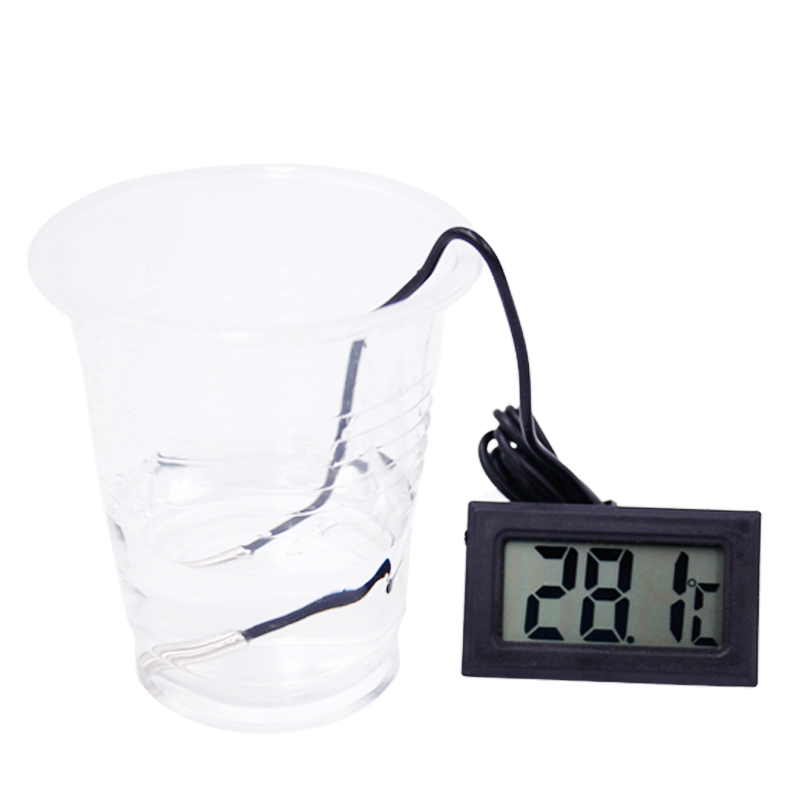 Termometro digitale per congelatore frigorifero Termometro LCD Tester - Strumenti di misura - Fotografia 5