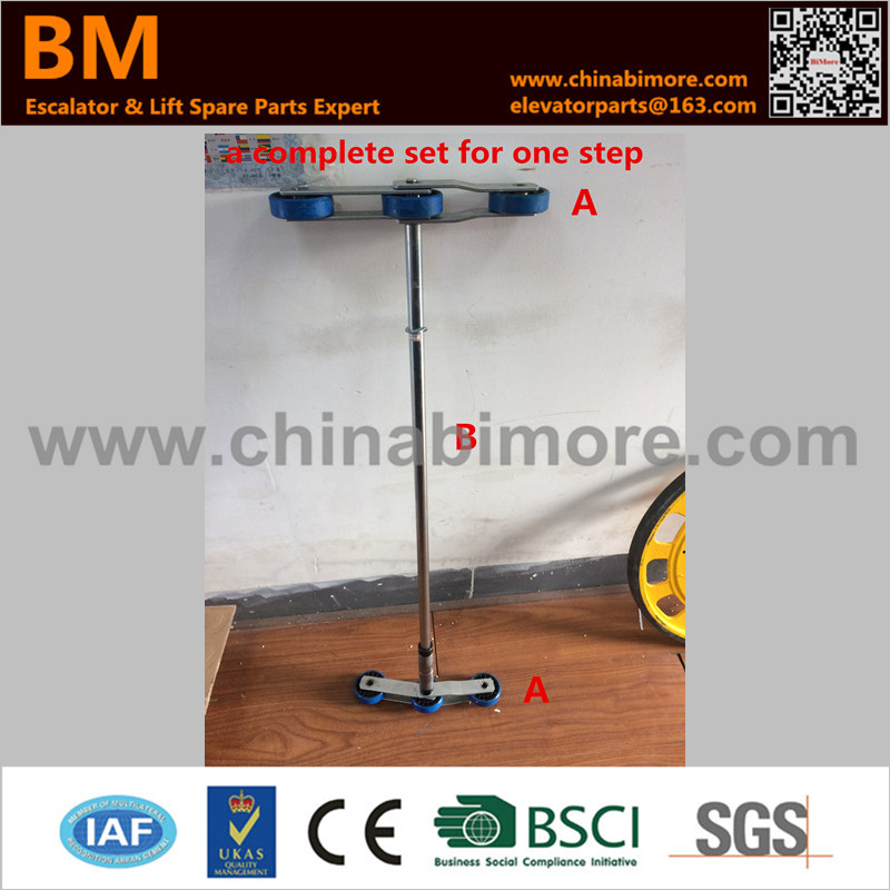 Escalator Step Chain 135.47 for 506 NCE Roller Size 76*22mm A Complete One for One Step