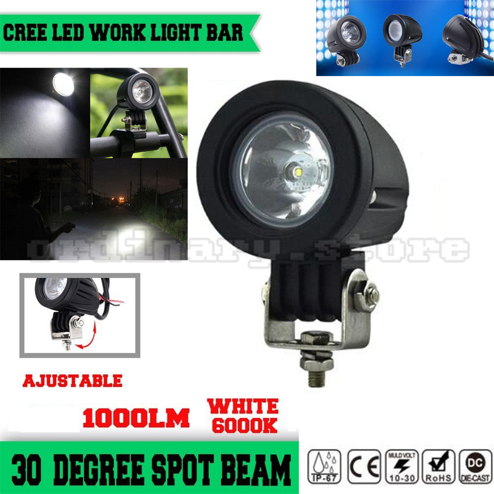 Super Bright Car Auto Truck Offroad SUV 4WD ATV Boat Bar LED Work Light Headlight Driving Fog Spot Night Safety Lamp Waterproof