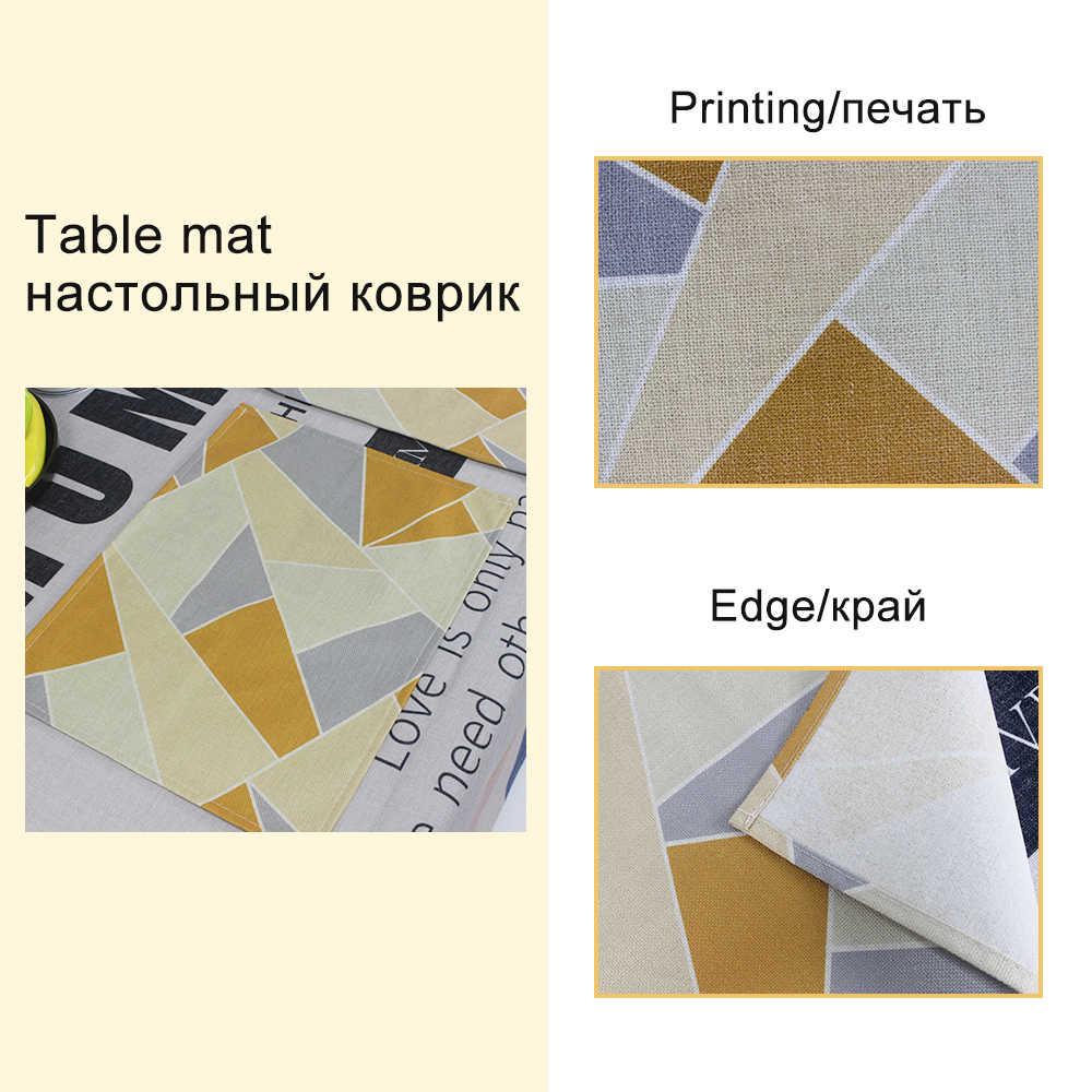 Feuille verte décoration tapis de Table Serviette en tissu mariage 43*32Cm serviettes de Table feuille de banane linge impression Serviette maison Table Serviette