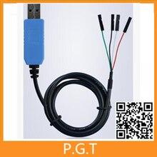 1PCS PL2303 TA USB TTL RS232 Convert Serial Cable PL2303TA Compatible with Win7 Win8 Win10 vista