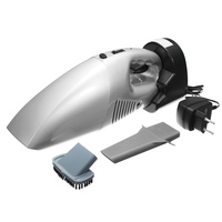 KROAK Durable Rechargeable Car Cordless Handheld Vacuum Pet Hair Cleaner Portable Dust Buster For Car Home
