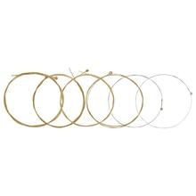 Phosphor Bronze Guitar-String Acoustic-Guitar-Parts for 41-Inches Folk 1pc Universal