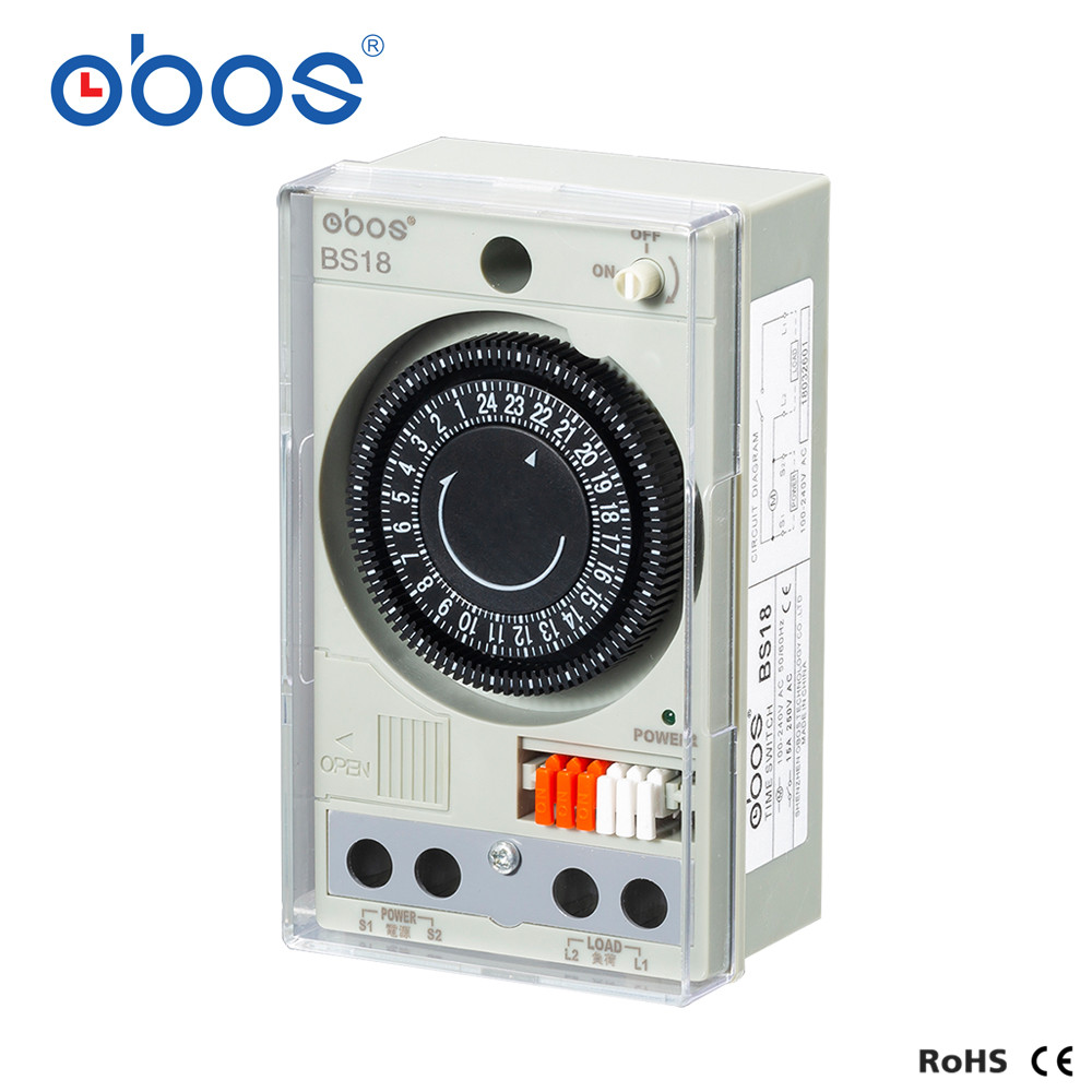 Timer Gute Ruf Eingebaute Akku 220 V Timer Schalter Mechanische Timer Mit 48 Mal Auf/off Zeit Einstellung Umfang 30 Min