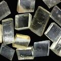 Natural high quality optical grade calcite calcite stone ore teaching specimens  starting