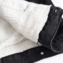 iSurvivor 2018 Men Winter Thick Fleece Denim Jeans Jackets and Coats Hombre Male Casual Fashion Slim Fit Large Size Jackets Men