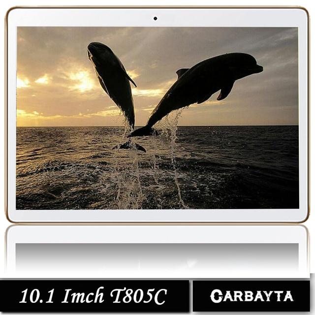 Бесплатная доставка DHL Smart Планшетные ПК планшетный компьютер Android 10.1 дюймов Android 7.0 окта 8 ядра планшет компьютер на базе Андроид ПЗУ 32 ГБ T805C