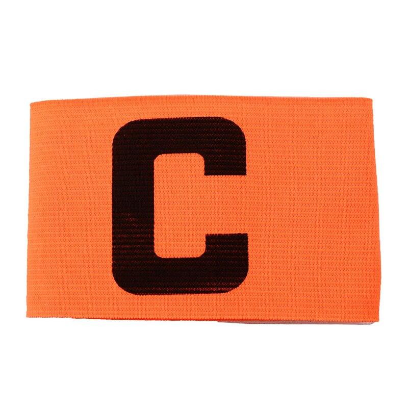 Multi-Colors Football Soccer Flexible Sports Trainign Adjustable Player Bands Fluorescent Captain Armband